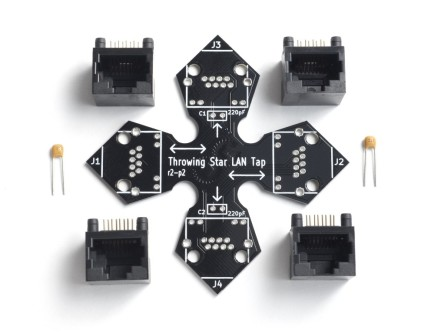 Throwing Star LAN Tap Kit photo