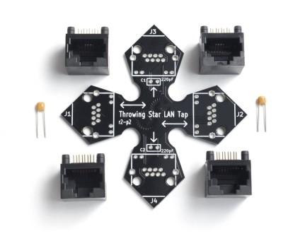 throwing star lan tap great scott gadgets Dishnet Wiring Diagram